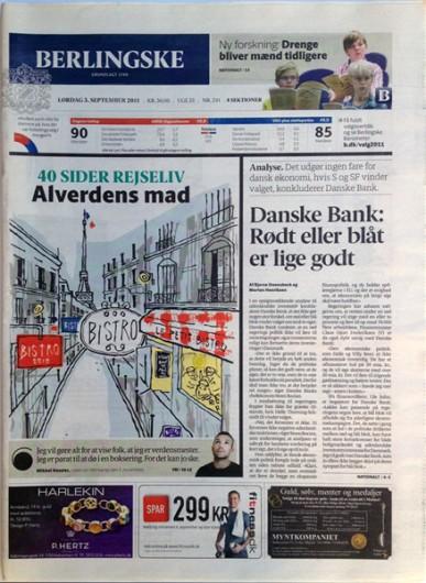 Rikke Ahm: BISTRO for BERLINGSKE