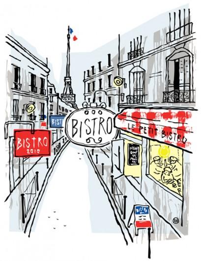 Rikke Ahm: BISTROBØLGE I PARIS