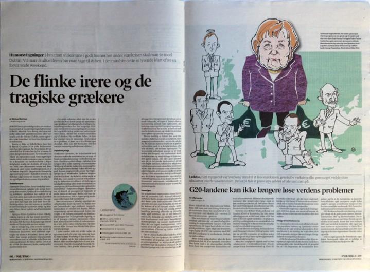 Rikke Ahm: EUROBALLADE for BERLINGSKE