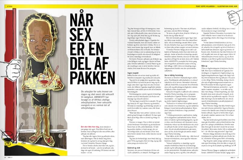 Rikke Ahm: KVINDER for AMNESTY