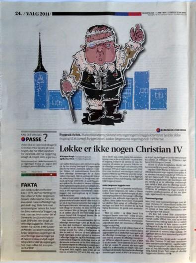 Rikke Ahm: LØKKE VAR IKKE NOGEN CHRISTIAN 4
