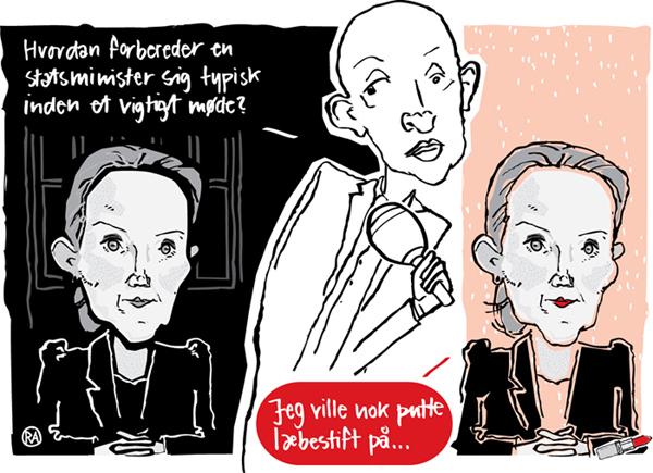 Rikke Ahm: ASK HOS STATSMINISTEREN