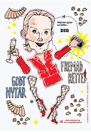 Rikke Ahm: NYTÅRSKORT 2014